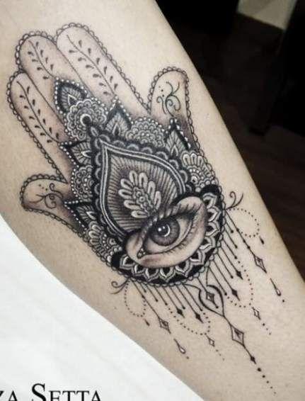 Hamsa Hand Tattoo Designs (5)