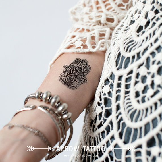 Hamsa Hand Tattoo Designs (66)