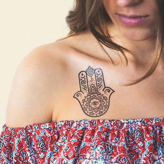 Hamsa Hand Tattoo Designs (79)
