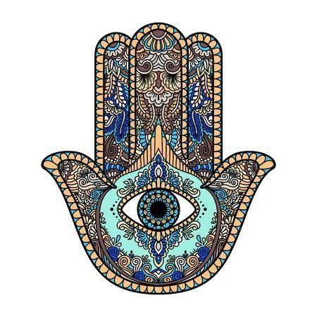Hamsa Hand Tattoo Designs (8)