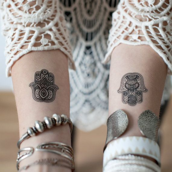 Hamsa Hand Tattoo Designs (80)