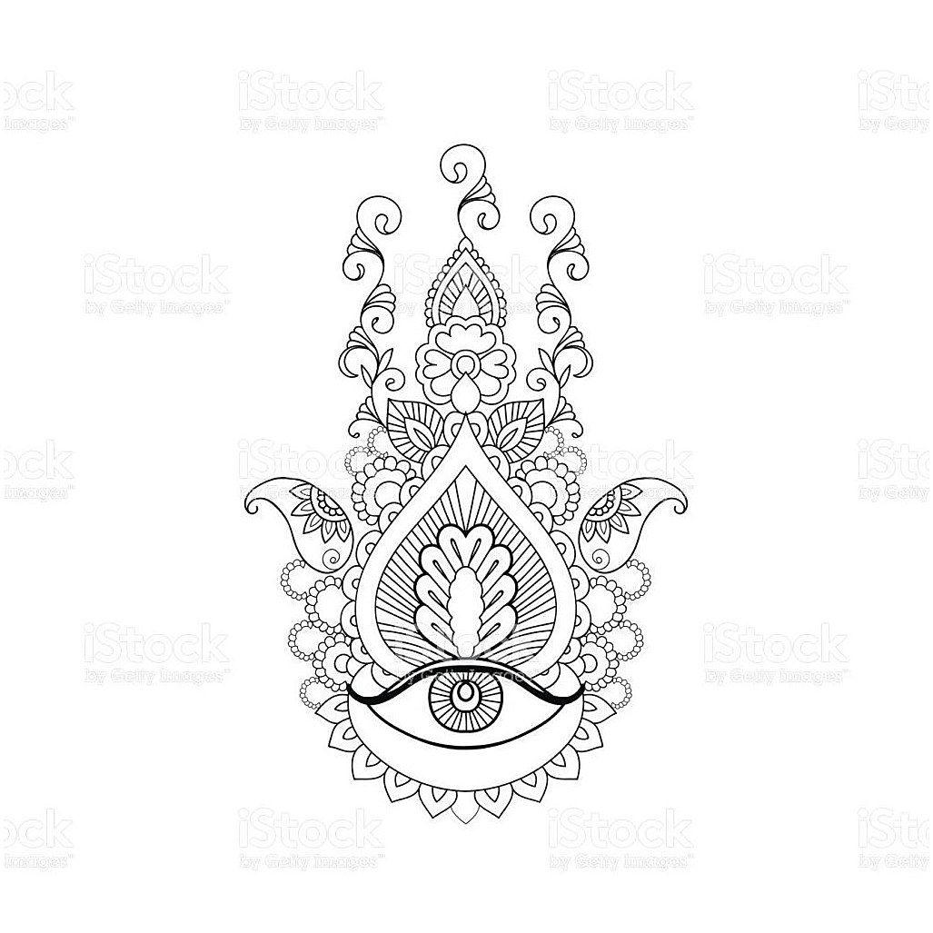 Hamsa Hand Tattoo Designs (89)