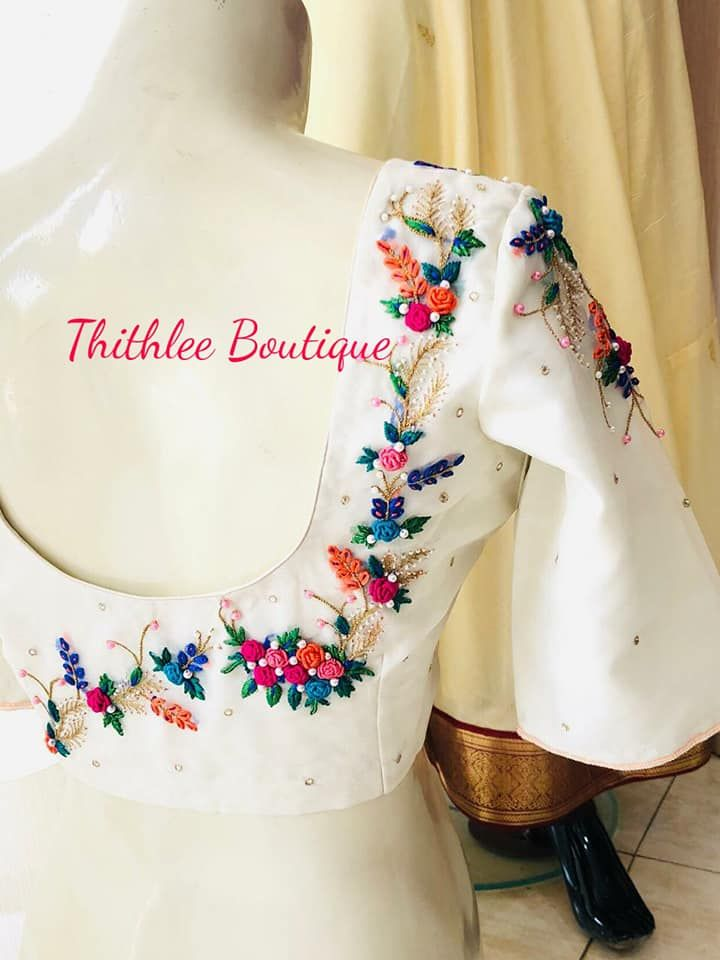 Latest Blouse Designs Images (95)
