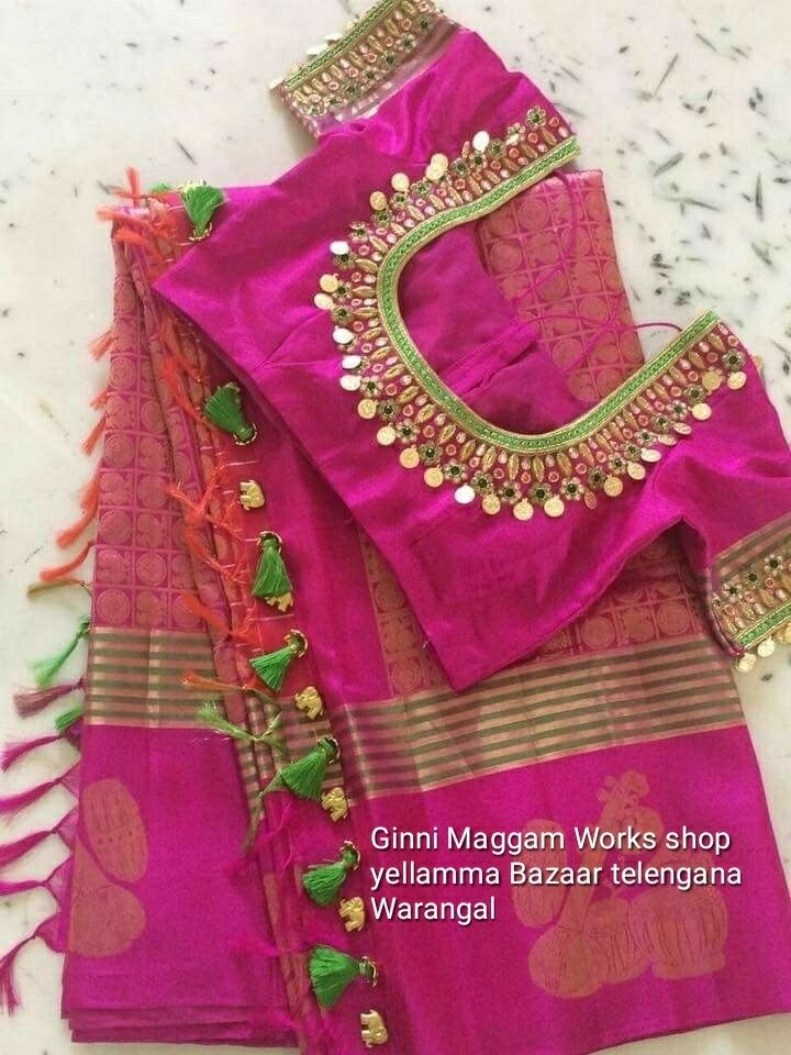 Maggam Work Blouse Designs (104)