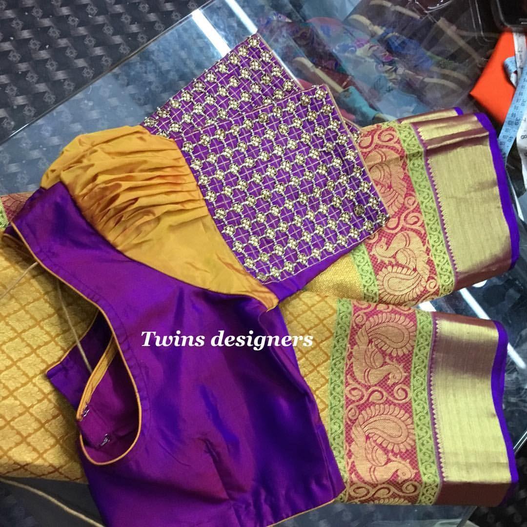 Maggam Work Blouse Designs (110)