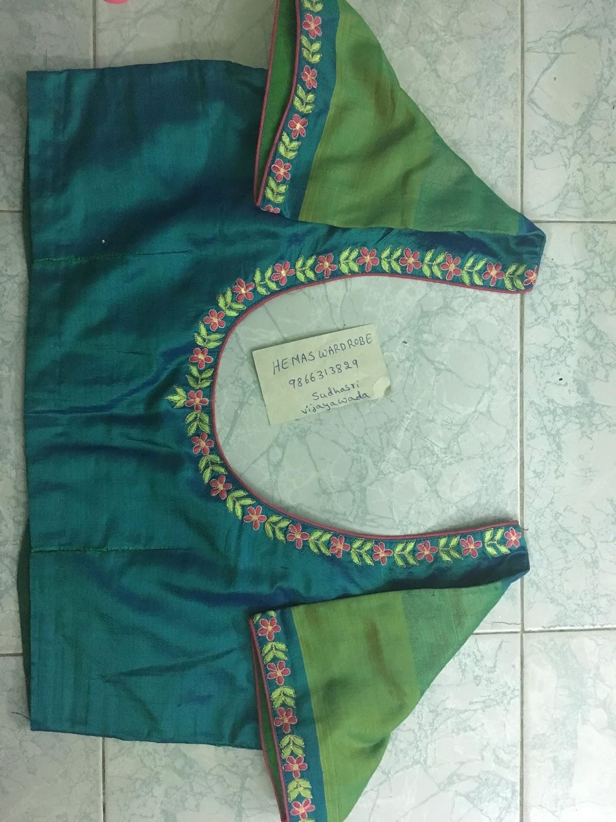 Maggam Work Blouse Designs (159)