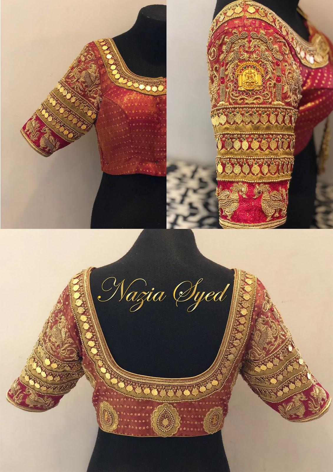 Maggam Work Blouse Designs (177)