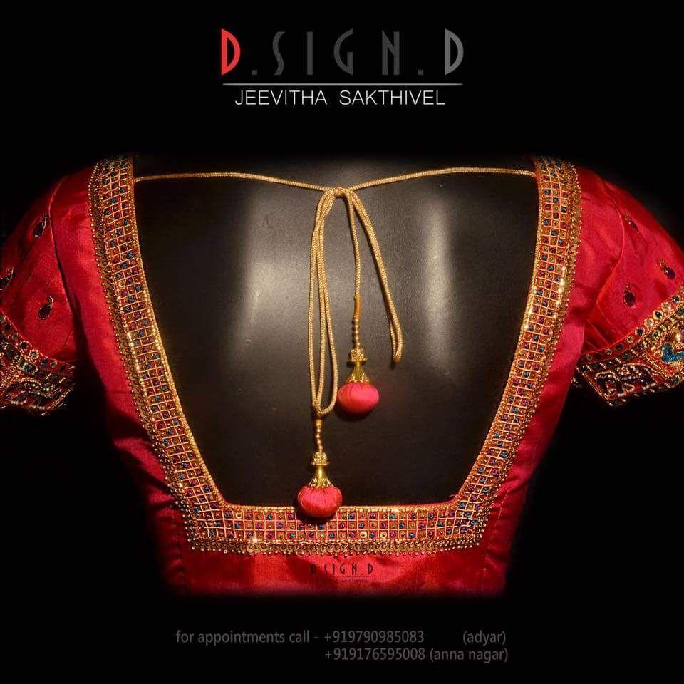 Maggam Work Blouse Designs (239)