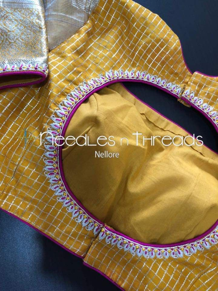 Maggam Work Blouse Designs (26)