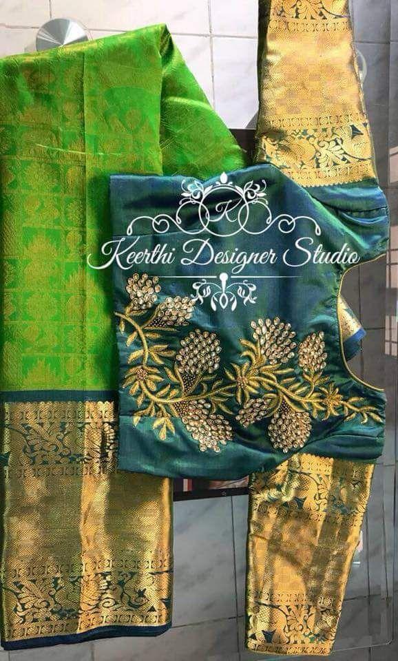 Maggam Work Blouse Designs (45)