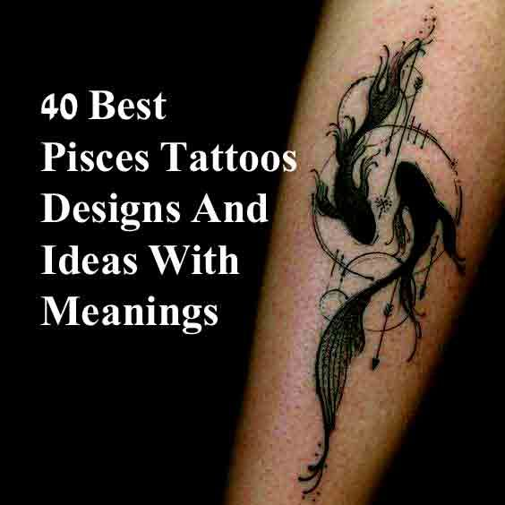 Pisces Horoscope Tattoo Zodiac Sign Fish (100)
