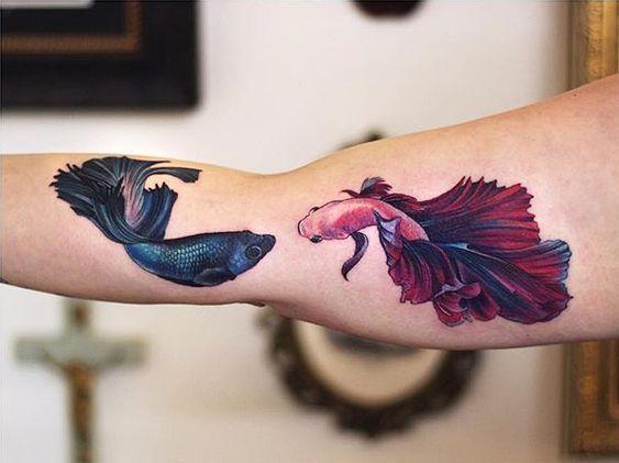 Pisces Horoscope Tattoo Zodiac Sign Fish (114)