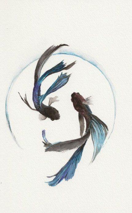 Pisces Horoscope Tattoo Zodiac Sign Fish (116)