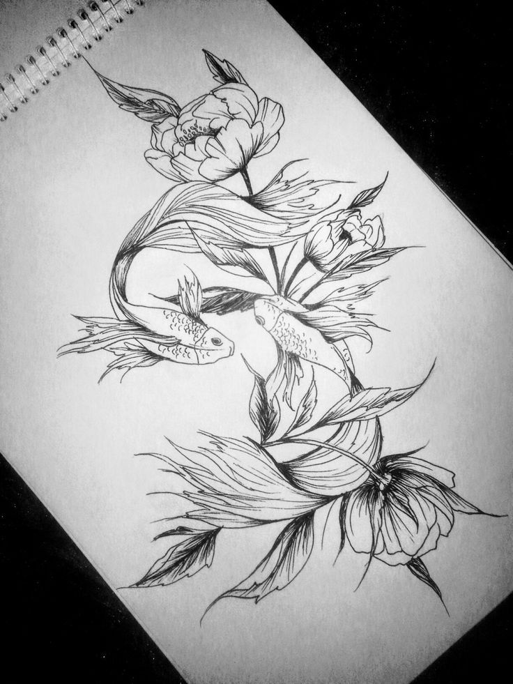 Pisces Horoscope Tattoo Zodiac Sign Fish (126)