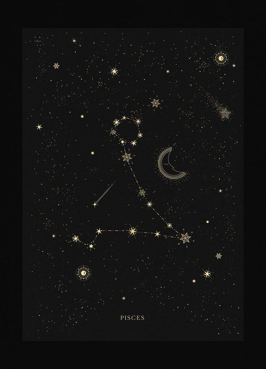 Pisces Horoscope Tattoo Zodiac Sign Fish (132)