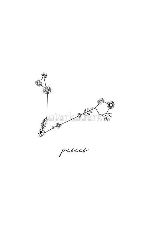 Pisces Horoscope Tattoo Zodiac Sign Fish (136)