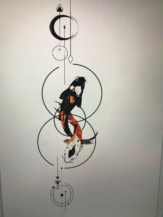 Pisces Horoscope Tattoo Zodiac Sign Fish (140)