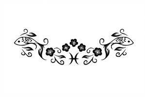 Pisces Horoscope Tattoo Zodiac Sign Fish (141)