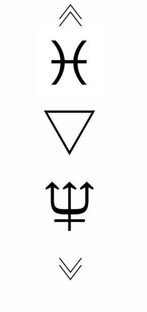 Pisces Horoscope Tattoo Zodiac Sign Fish (143)