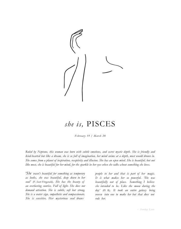 Pisces Horoscope Tattoo Zodiac Sign Fish (197)