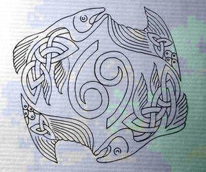 Pisces Horoscope Tattoo Zodiac Sign Fish (21)