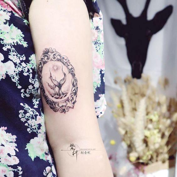 Pisces Horoscope Tattoo Zodiac Sign Fish (26)