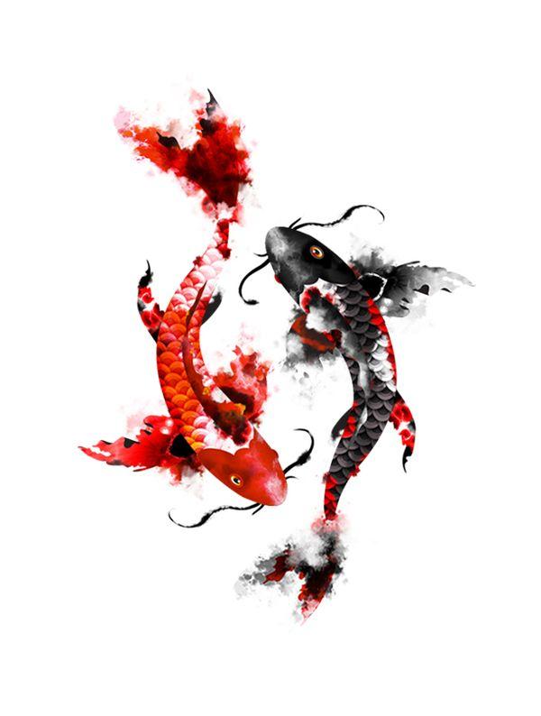 Pisces Tattoo Zodiac Sign Fish (29)