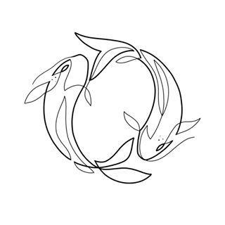 Pisces Horoscope Tattoo Zodiac Sign Fish (30)