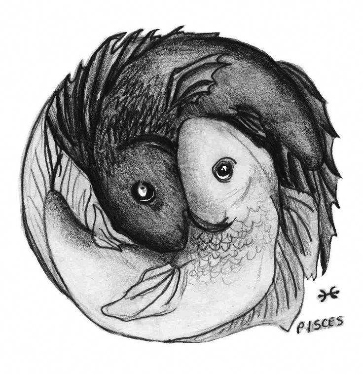Pisces Horoscope Tattoo Zodiac Sign Fish (32)