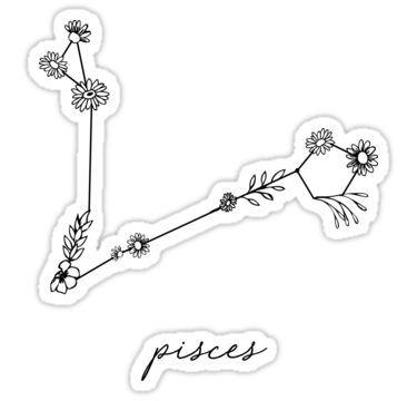Pisces Horoscope Tattoo Zodiac Sign Fish (44)