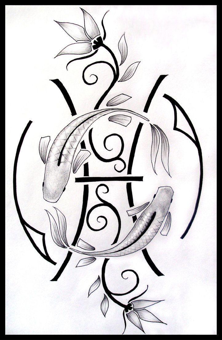 Pisces Horoscope Tattoo Zodiac Sign Fish (55)
