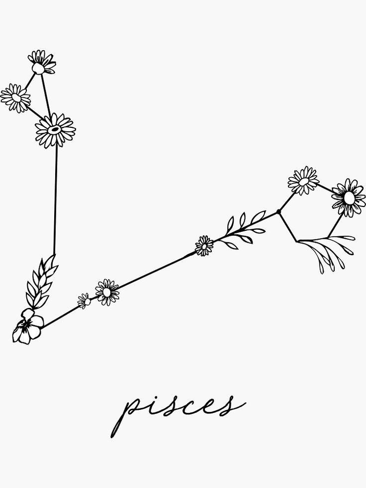 Pisces Horoscope Tattoo Zodiac Sign Fish (67)
