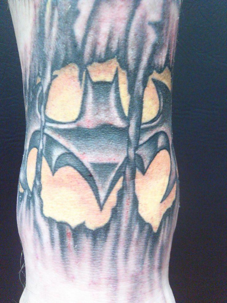 Simple Small Batman Tattoo Designs Ideas (10)