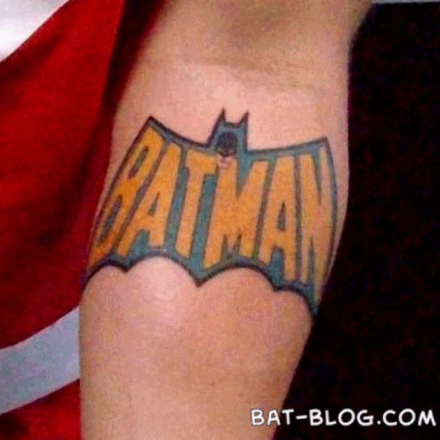 Simple Small Batman Tattoo Designs Ideas (100)