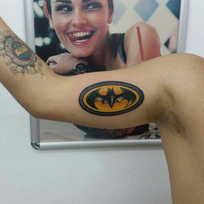 Simple Small Batman Tattoo Designs Ideas (104)