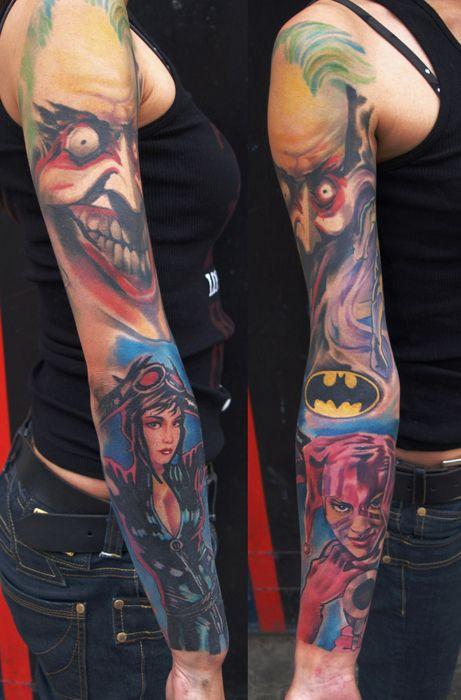 Simple Small Batman Tattoo Designs Ideas (111)