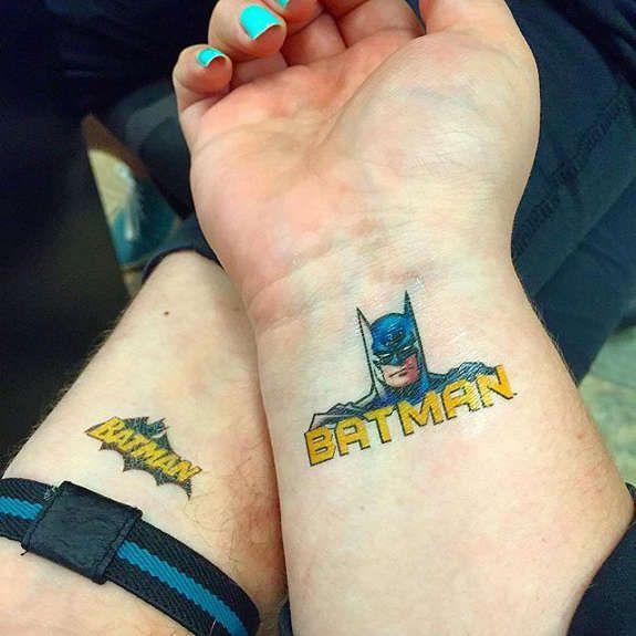 Simple Small Batman Tattoo Designs Ideas (112)