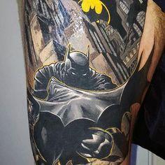 Simple Small Batman Tattoo Designs Ideas (116)