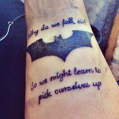 Simple Small Batman Tattoo Designs Ideas (141)