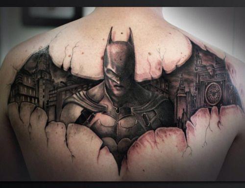 Simple Small Batman Tattoo Designs Ideas (142)