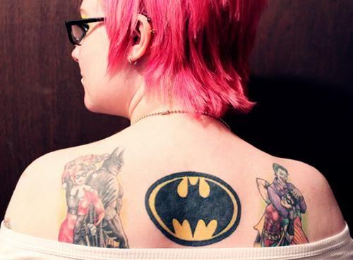 Simple Small Batman Tattoo Designs Ideas (144)