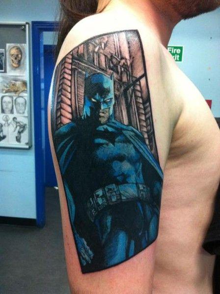 Simple Small Batman Tattoo Designs Ideas (149)