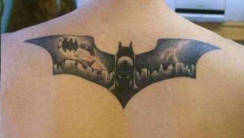 Simple Small Batman Tattoo Designs Ideas (16)