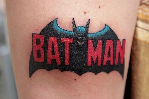Simple Small Batman Tattoo Designs Ideas (174)