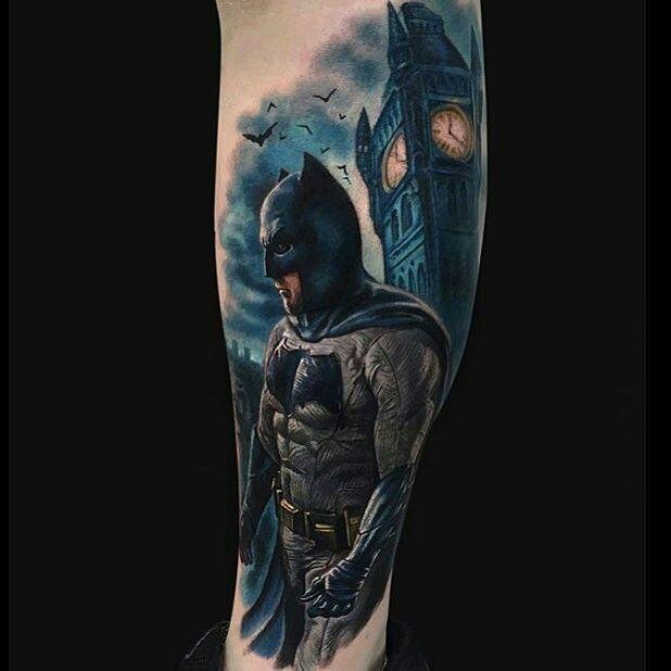 Simple Small Batman Tattoo Designs Ideas (175)