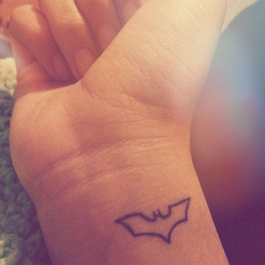 Simple Small Batman Tattoo Designs Ideas (22)