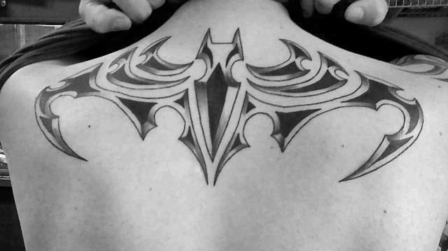 Simple Small Batman Tattoo Designs Ideas (27)