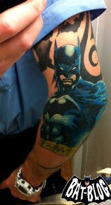 Simple Small Batman Tattoo Designs Ideas (29)