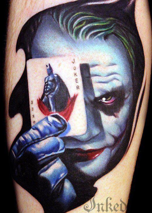 Simple Small Batman Tattoo Designs Ideas (30)