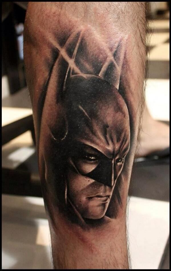 Simple Small Batman Tattoo Designs Ideas (46)